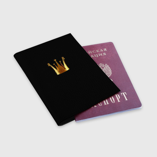 Обложка для паспорта матовая кожа  Фото 03, Жена царя (парная)