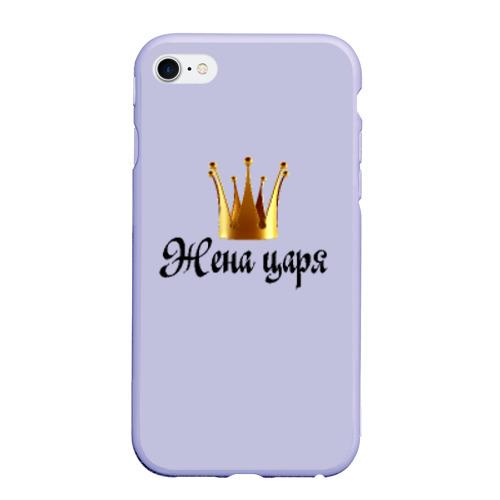 Чехол для iPhone 6Plus/6S Plus матовый Жена царя (парная) Фото 01