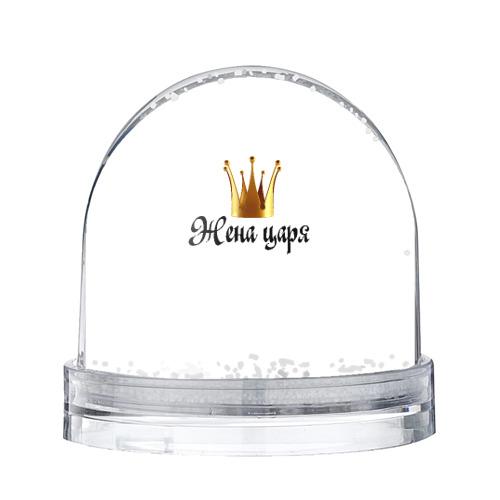 Водяной шар со снегом Жена царя (парная)