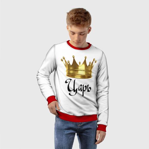 Детский свитшот 3D Царь (парная) Фото 01