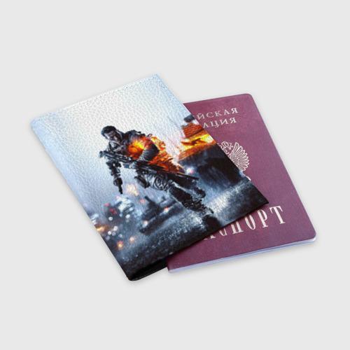 Обложка для паспорта матовая кожа  Фото 03, Battlefield Multiplayer