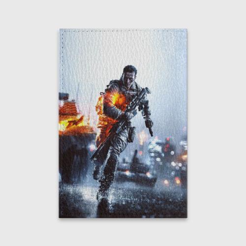 Обложка для паспорта матовая кожа  Фото 02, Battlefield Multiplayer