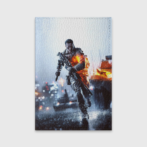 Обложка для паспорта матовая кожа  Фото 01, Battlefield Multiplayer
