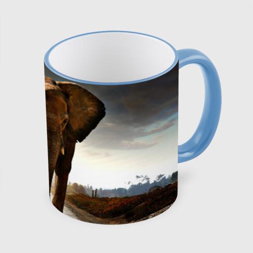 Кружка с полной запечаткой  Фото 01, Дикий слон