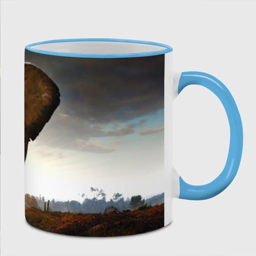 Кружка с полной запечаткой  Фото 02, Дикий слон