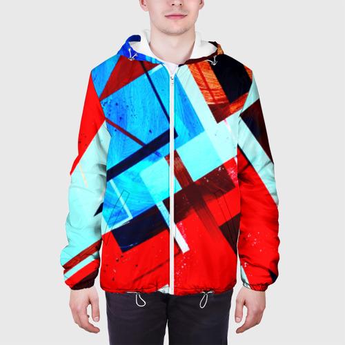 Мужская куртка 3D  Фото 04, Geometrical