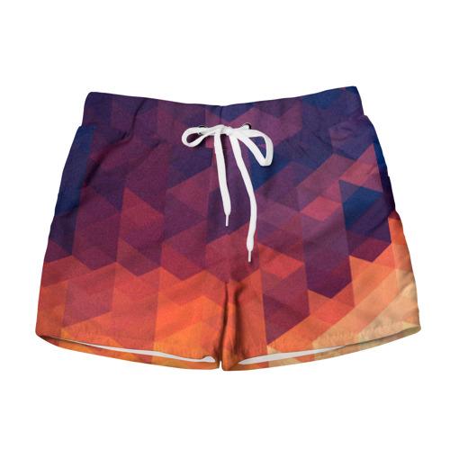 Женские шорты 3D Trians 2