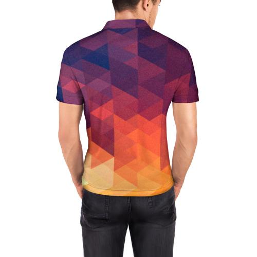 Мужская рубашка поло 3D  Фото 04, Trians 2