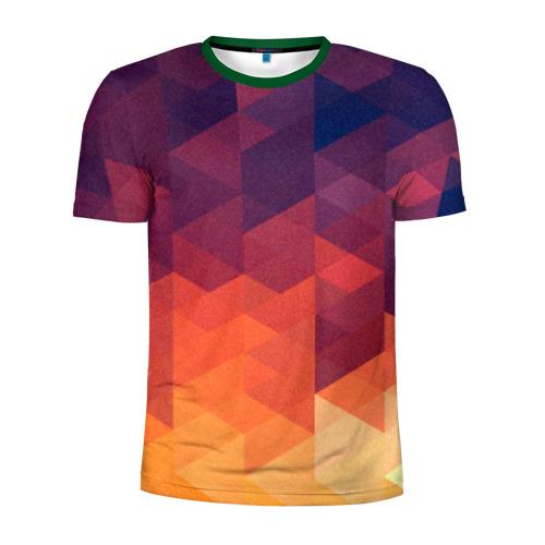 Мужская футболка 3D спортивная Trians 2