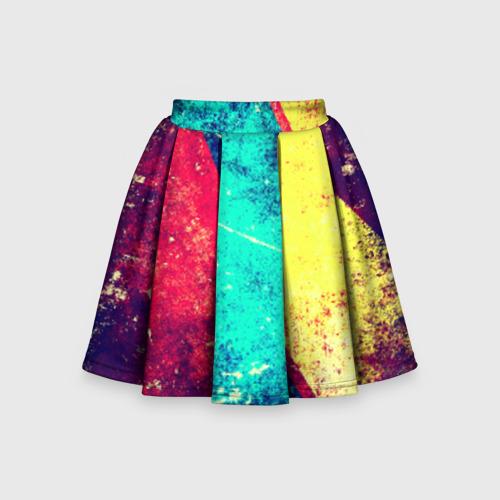 Детская юбка-солнце 3D Grunge