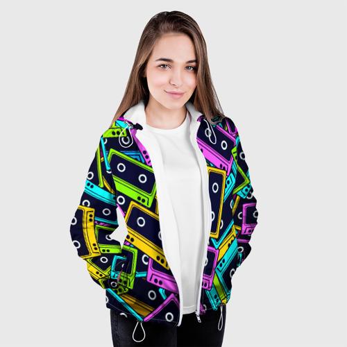 Женская куртка 3D  Фото 04, Кассета