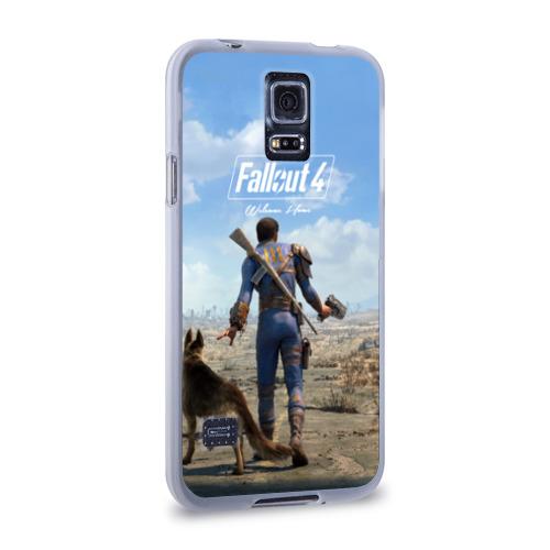 Чехол для Samsung Galaxy S5 силиконовый  Фото 02, Fallout 4