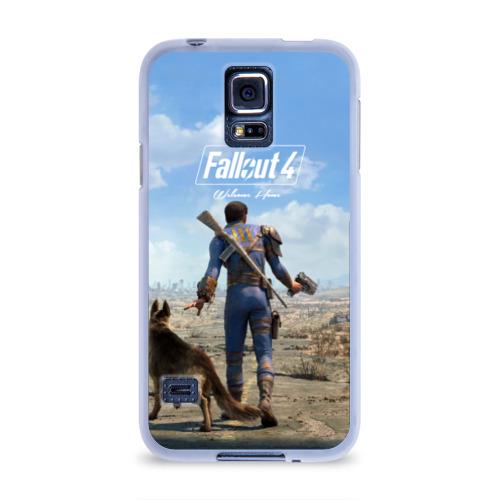 Чехол для Samsung Galaxy S5 силиконовый  Фото 01, Fallout 4