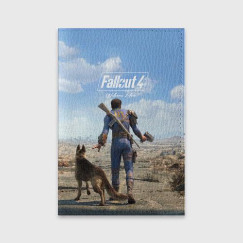 Обложка для паспорта матовая кожа  Фото 01, Fallout 4