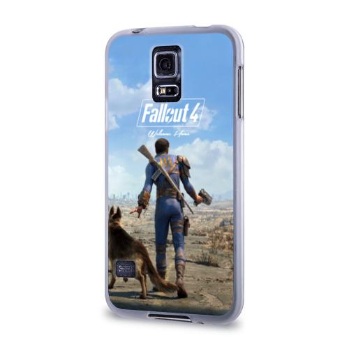 Чехол для Samsung Galaxy S5 силиконовый  Фото 03, Fallout 4