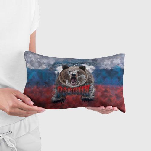 Подушка 3D антистресс Русский медведь Фото 01