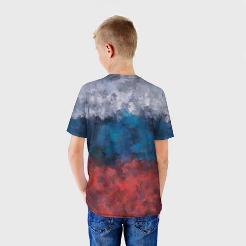 Детская футболка 3D  Фото 02, Русский медведь