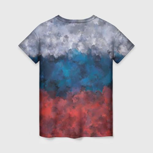 Женская футболка 3D Русский медведь Фото 01