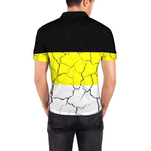 Мужская рубашка поло 3D  Фото 04, Я Русский Имперский флаг