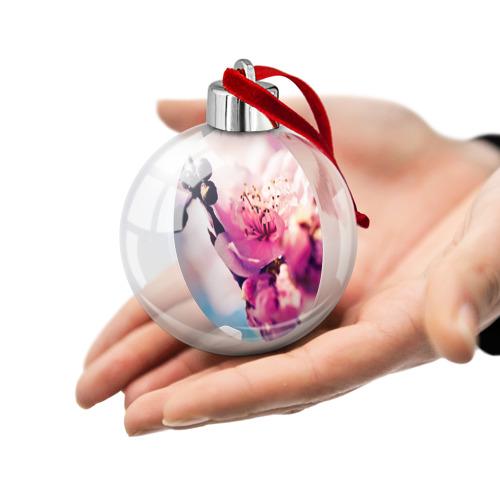 Ёлочный шар  Фото 02, Цветущая вишня