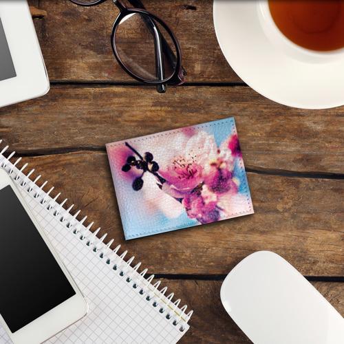 Обложка для студенческого билета  Фото 03, Цветущая вишня