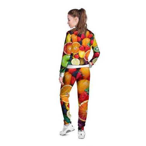 Женская олимпийка 3D  Фото 04, Мультифрукт