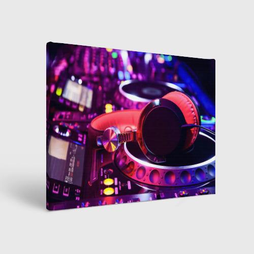 Холст прямоугольный  Фото 01, DJ Mix