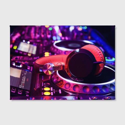 Холст прямоугольный  Фото 02, DJ Mix
