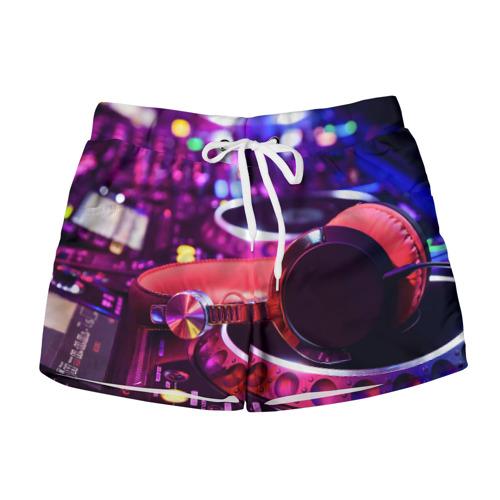 Женские шорты 3D DJ Mix