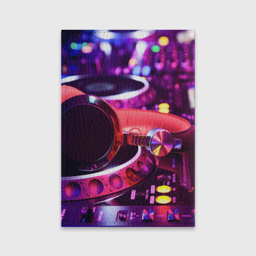 Обложка для паспорта матовая кожа DJ Mix Фото 01