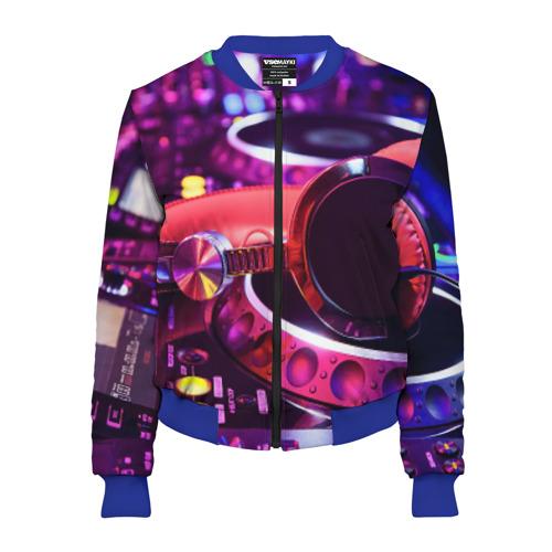 Женский бомбер 3D DJ Mix