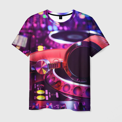 Мужская футболка 3D DJ Mix