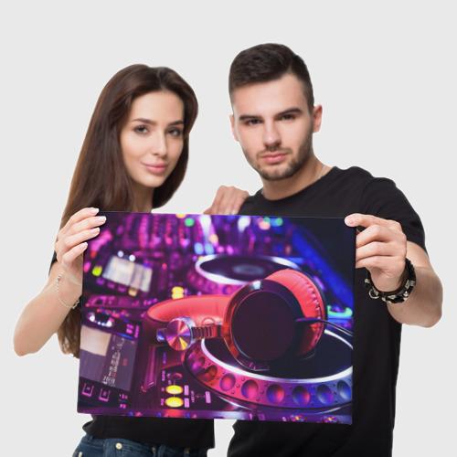 Холст прямоугольный  Фото 05, DJ Mix