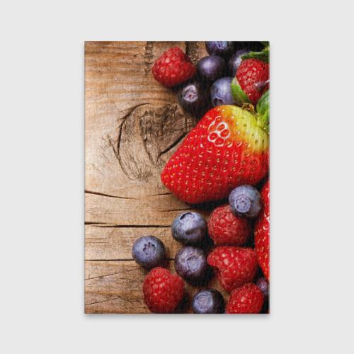 Обложка для паспорта матовая кожа  Фото 01, Ягодный микс