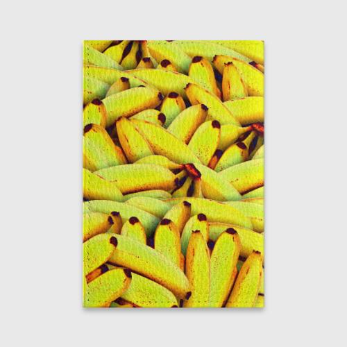 Обложка для паспорта матовая кожа Банана Фото 01