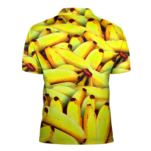 Мужская рубашка поло 3D  Фото 02, Банана