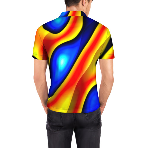 Мужская рубашка поло 3D  Фото 04, Glass