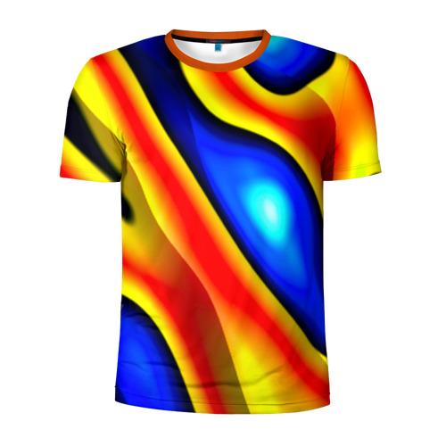 Мужская футболка 3D спортивная Glass