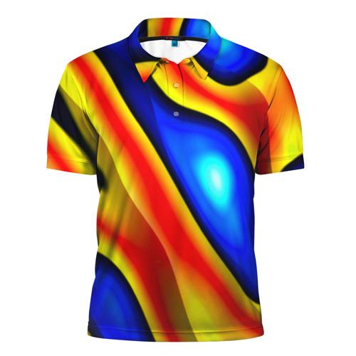 Мужская рубашка поло 3D  Фото 01, Glass
