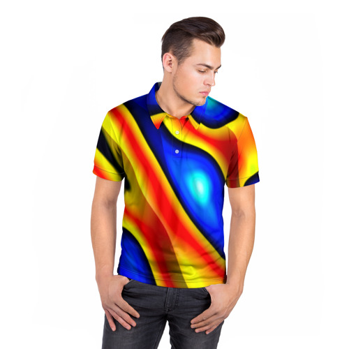 Мужская рубашка поло 3D  Фото 05, Glass