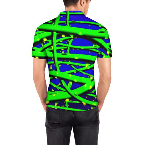 Мужская рубашка поло 3D  Фото 04, Шипы