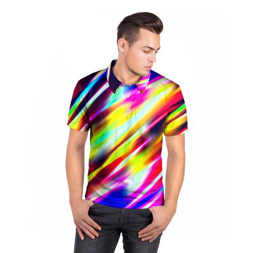 Мужская рубашка поло 3D  Фото 05, Blink