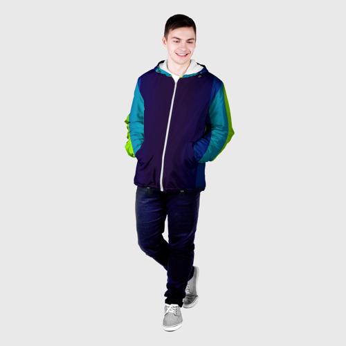 Мужская куртка 3D  Фото 03, Blue