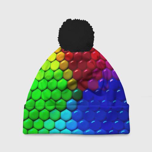 Шапка 3D c помпоном Eternity