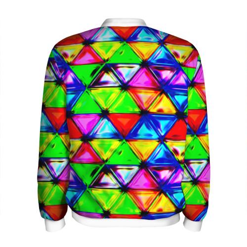 Мужской бомбер 3D  Фото 02, Треугольник