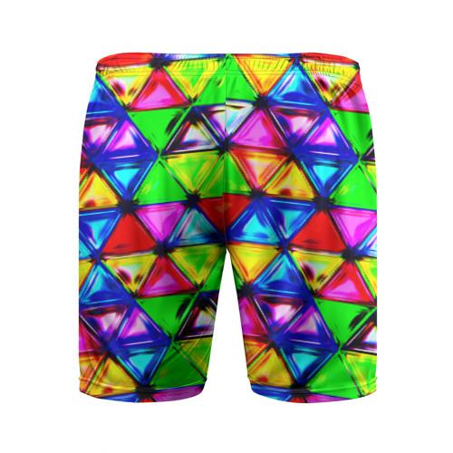 Мужские шорты 3D спортивные  Фото 02, Треугольник
