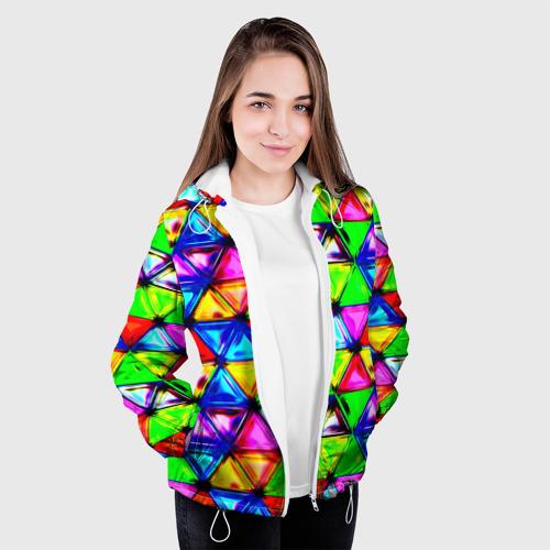 Женская куртка 3D  Фото 04, Треугольник
