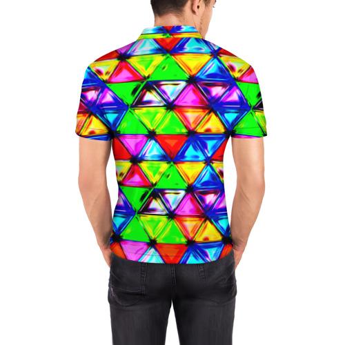 Мужская рубашка поло 3D  Фото 04, Треугольник