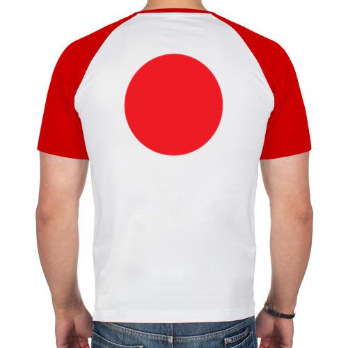 Мужская футболка реглан  Фото 02, I love japan
