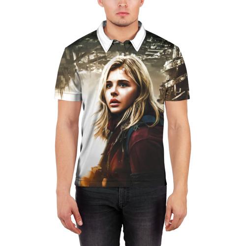 Мужская рубашка поло 3D  Фото 03, Chloe Moretz